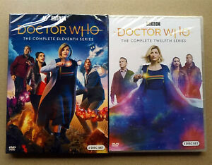 Doctor-Who-Season-11-amp-Season-12-DVD-2020-Fast-shipping-First-Class-Mail