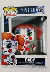 Funko-Pop-Games-Five-Nights-at-Freddy-039-s-Sister-Location-Baby-Vinyl-Figure-226