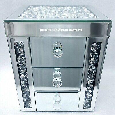 Or Argent Diamant Noir Crush sets de table miroir Sparkles cadeau de Noël