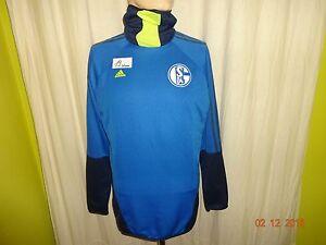 FC-Schalke-04-Adidas-Spieler-Training-Sweatshirt-Pullover-2013-14-Gr-M-TOP