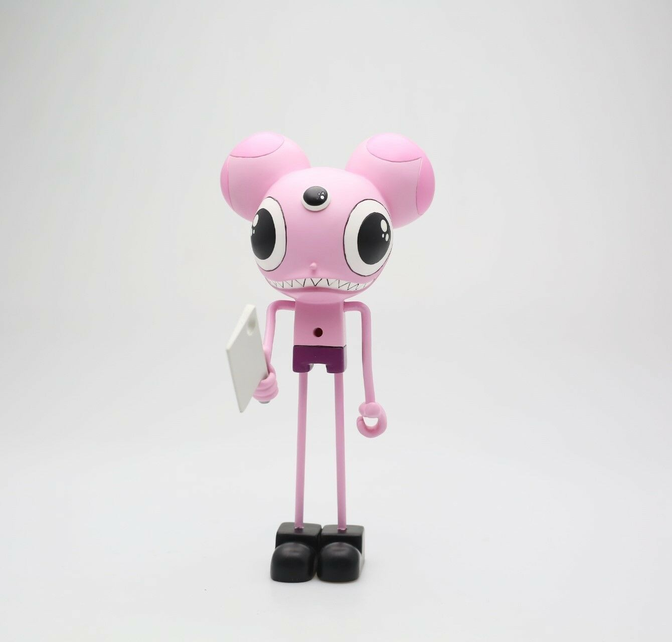 Dalek x CEREALART Space Monkey Pink 9 Inch Action Figure pink