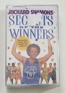 Richard Simmons Secrets of the Winners Cassette Tape 1998