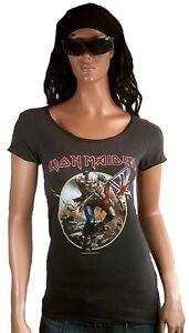 Rock Star Amplified Maiden Métal T shirt Officiel Trooper G Vintage l The Iron wqRgYqX
