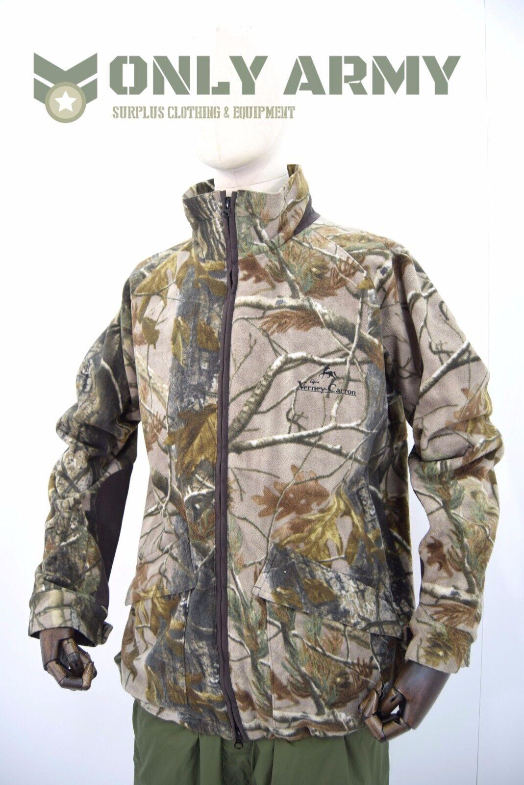 Verney Carron 100% Waterproof Realtree Stalker Fleece Jacket Shooting Stalking