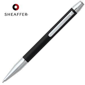 SHEAFFER Defini BLACK Refill Ballpoint Ball Pen Matte Black Barrel in GIFT BOX