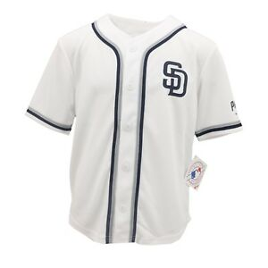 d091dba7f95 San Diego Padres Official MLB Genuine Apparel Kids Youth Size Jersey ...