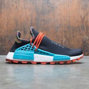 8980f9deaccb Adidas NMD Hu Pharrell Inspiration Black Orange Blue Size 14. EE7582 ...