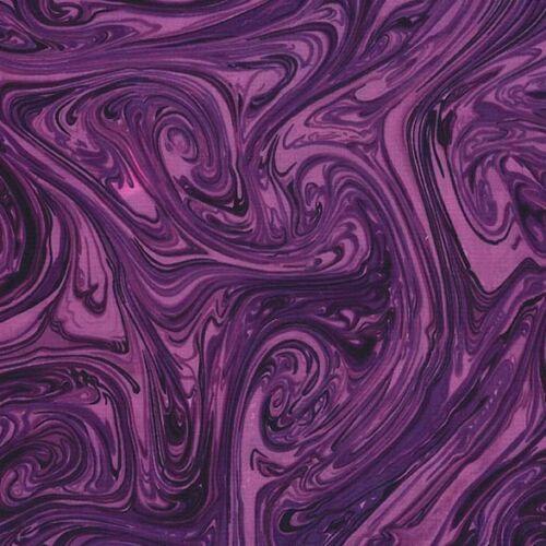 Swirls 100/% cotton Fabric FQ//Metre 25 colour options Michael Miller MARBLES