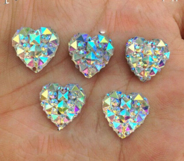 20/50pcs Crystal Flatback Rhinestone Nail Art Decor Sequins Beads Finding 12MM