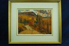 """Yvette Boulanger Canadian Painting  """" Rang Brebeuf , 1980"""""""