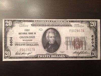 Reproduction Paper Money Obsolete US Wisconsin WI 20 Pc Set Currency Copy