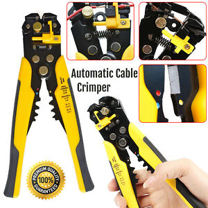 Auto-Ajustable-Automatico-cable-arrugador-Stripper-alicates-Cortador-Herramienta-que-prensa
