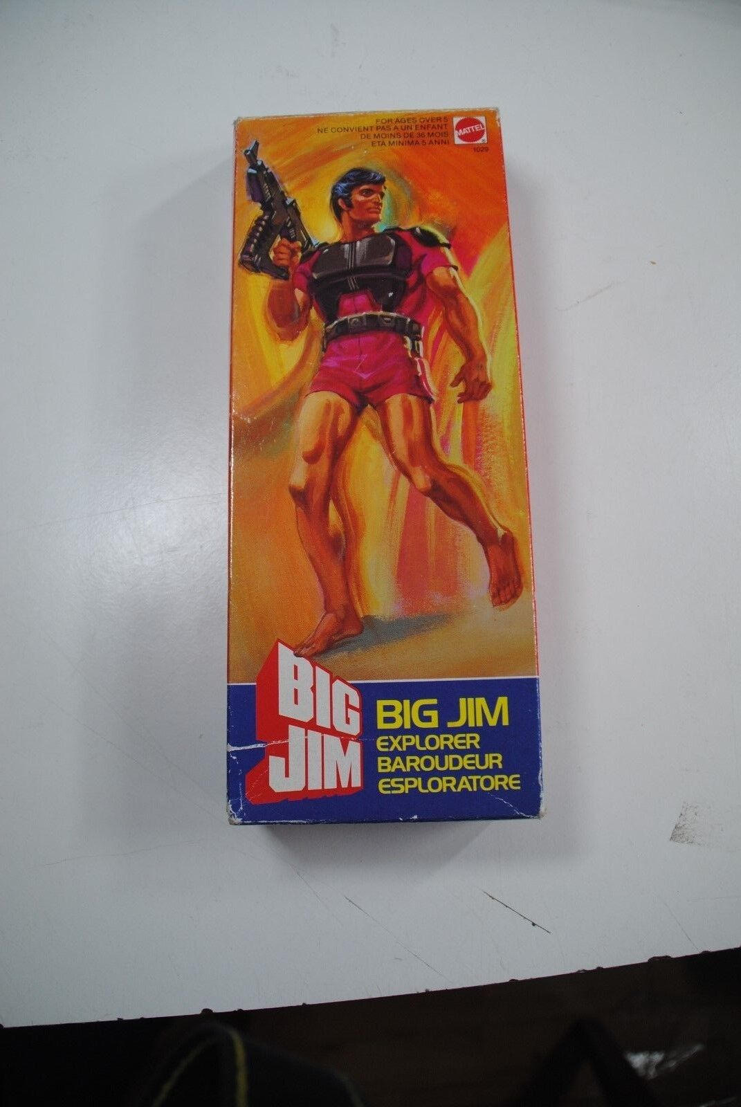 BIG JIM MATTEL  BIG JIM EXPLORER     RARE BOXED FIGURE