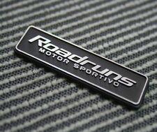[Kspeed] (Fits all Type Cars) Roadruns Aluminum Emblem RSM -3 2 in one