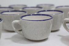 Vintage Syracuse China blue speckled restaurant style MUG 23 Available stoneware
