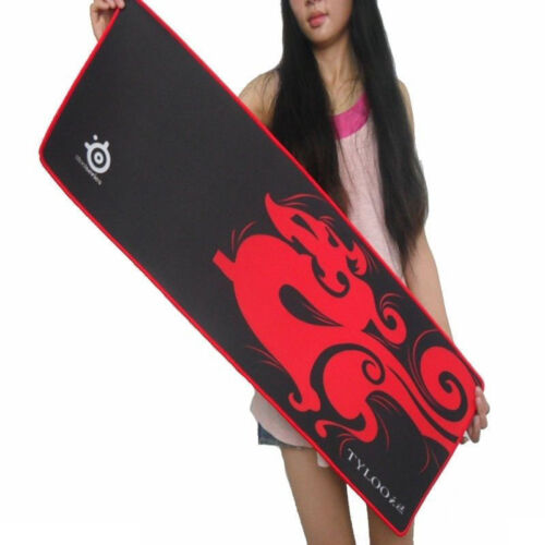 SteelSeries TYLOO Speed XL Large Size 800*300 QcK Mouse Pad Gaming Mat Red