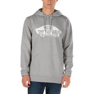 vans hoodie grau