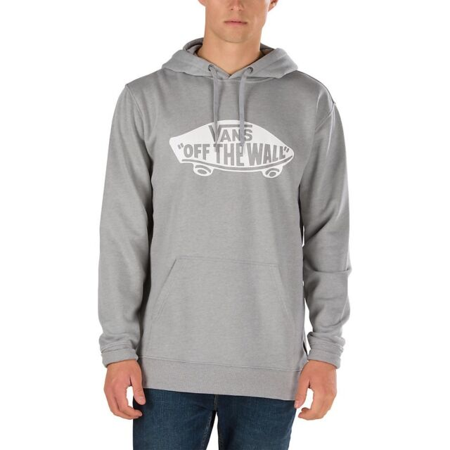 99a6f9ffc41bb8 VANS CLASSIC OTW PULLOVER HOODIE CONCRETE HEATHER GREY WHITE