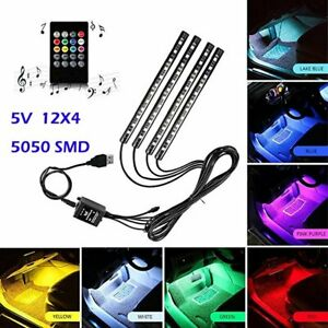 4X12-LED-Car-Interior-RGB-LED-Strip-Lights-Atmosphere-Decorative-Neon-Music-Lamp