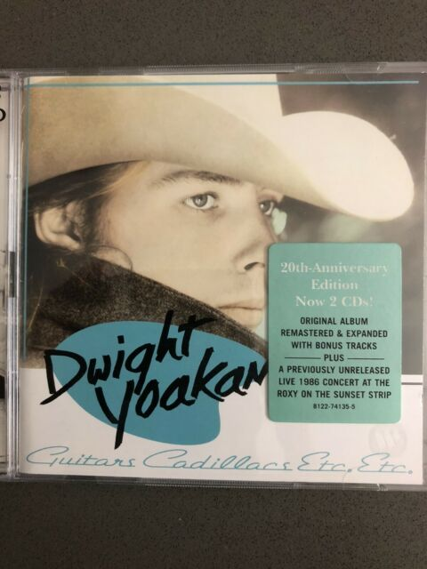 Dwight Yoakam Guitars,Cadillacs,Etc.,Etc. Deluxe Edition Remastered Expanded 2CD