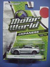 GREENLIGHT MOTOR WORLD SERIES 16 JAPANESE EDITION 2011 NISSAN GT-R (R35)