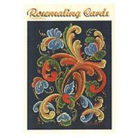 Rosemaling Norway Blank Cards Set,