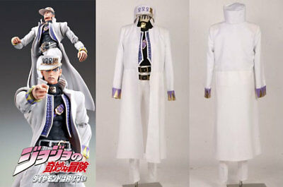 New! JoJo/'s Bizarre Adventure Part 4 Jotaro Kujo Set Unisex Cosplay Costumes