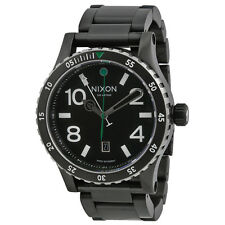 Nixon Diplomat SS Black Dial Stainless Steel Mens Watch A2771421