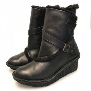 Boucles Bottes Po Femme zu En Taille Uk 5 Cuir Chaussures CqUCx8zwF