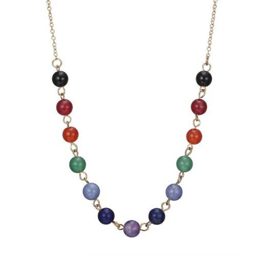 7 Chakra Perles Collier Pendentif Femmes Yoga Reiki Guérison Équilibrage bijoux nouveau