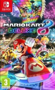 Mario Kart 8 DELUXE SWITCH NINTENDO (NEUF ET SOUS BLISTER 20 UNITES)