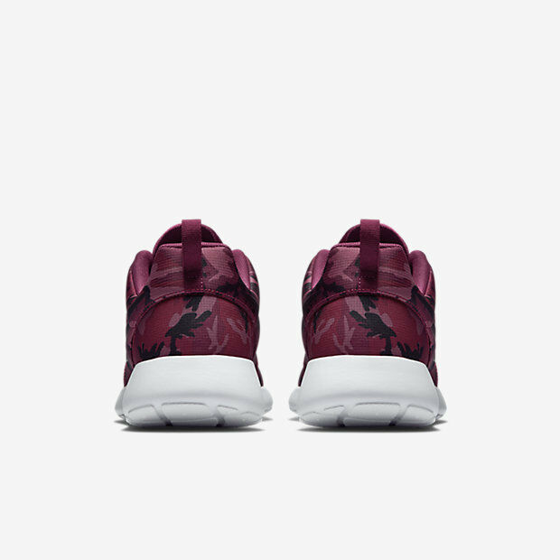 NIKE ROSHEcourir PRINT Casual Roshe fonctionnement Trainers Gym Casual PRINT -7 (EU 41) Villain rouge c113ee