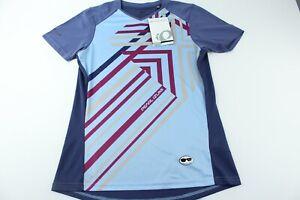 Pearl-Izumi-Womens-Launch-Short-Sleeve-Cycling-Jersey-Purple-Blue-Size-Large