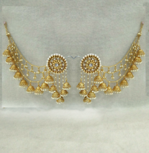 Babosa Sakhi Bahubali Indian Jewelry Earrings Jhumki Jhumka Sahara