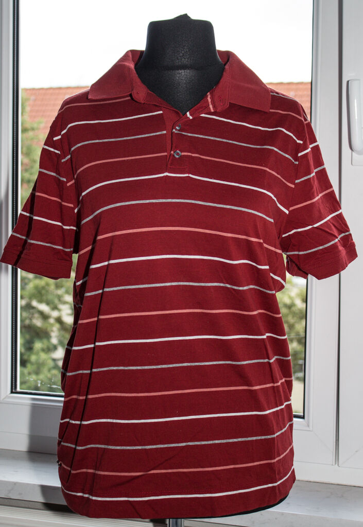Herren Poloshirt Strellson M Rot wie neu     | Elegante und robuste Verpackung  | Ausgang  | Discount
