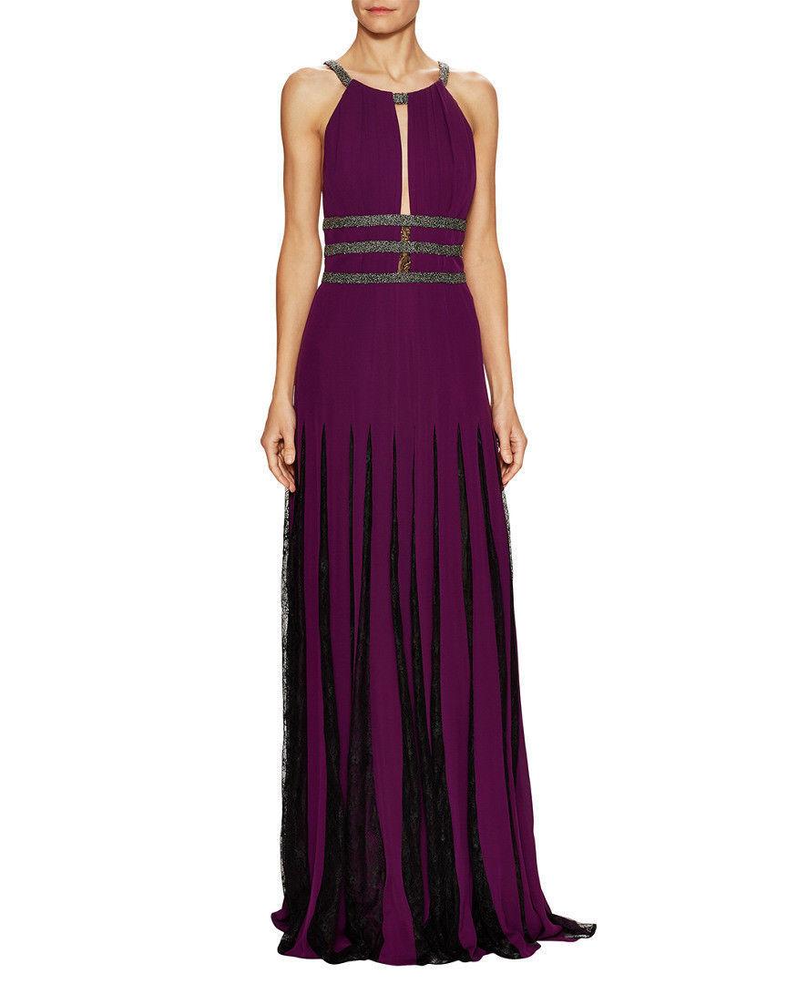 Badgley Mischka Couture para mujer  Vestido de medios combinados, Orquídea Tamaño  10  Venta al por mayor barato y de alta calidad.