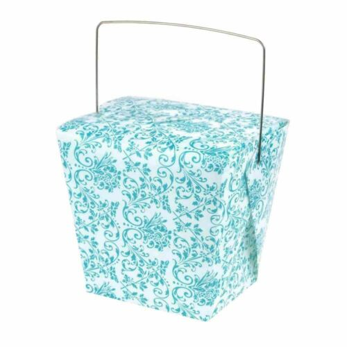 12-Piece Take Out Boxes with Wire Handle Party Favors