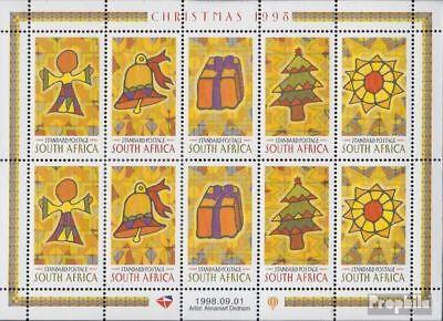 Attent Zuid-afrika 1169-1173 Velletje (compleet.kwestie.) Postfris Mnh 1998 Kerstmis