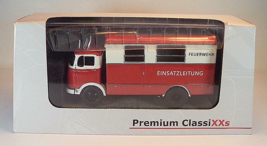 Premium Classixxs 1 43 43 43 Mercedes Benz LP911 Feuerwehr Einsatzleitung OVP  3230 f5981d