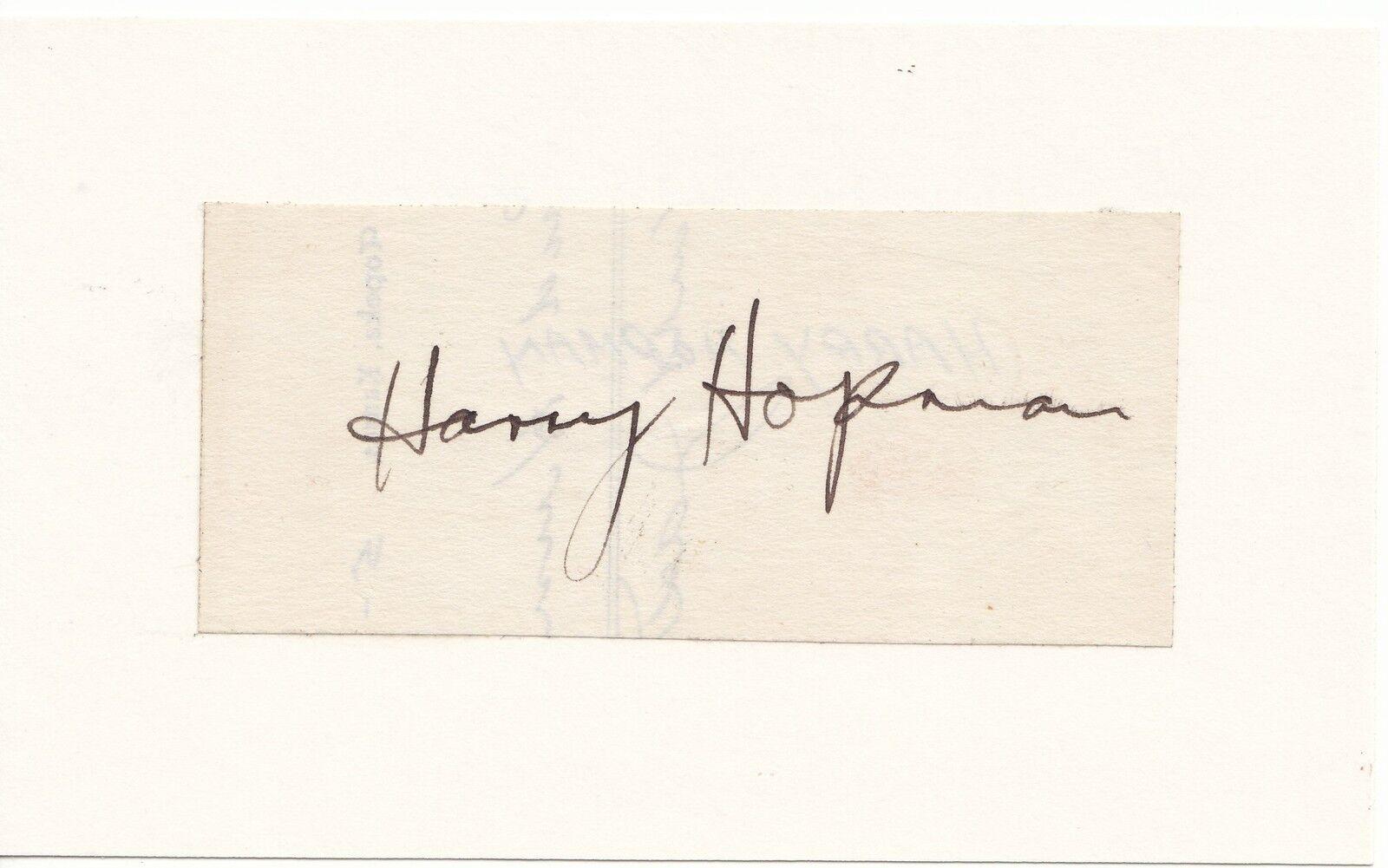 HARRY HOPMAN TENNIS AUSTRALIA DAVIS DAVIS DAVIS CUP VERY RARE SIGNATURE CUT COA 81a0ab