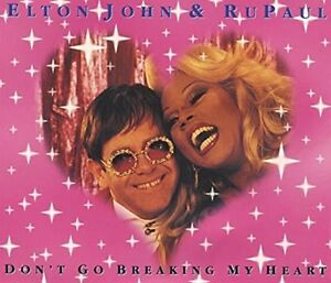 Elton-John-Don-039-t-Go-Breaking-My-Heart-1994-amp-psychologue-Maxi-CD