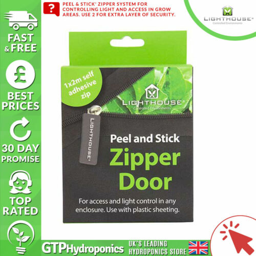 Phare Peel /& Stick Fermeture éclair Porte-Stick zipper pièce Seal