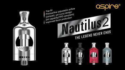 Autentico NAUTILUS 2 ASPIRE e COIL a scelta