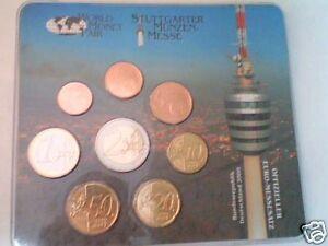 2008-FINLANDIA-8-monete-EURO-Stoccarda-stuttgart-messe
