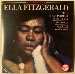 ELLA FITZGERALD THE COLE PORTER SONGBOOK VOL. 1 CD VERVE 1984 PMDC PRESS FRANCE