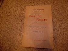 1950.Essai sur Voltaire.Bellessort André