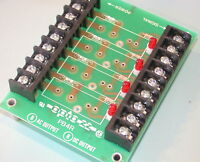 OPTO 22 PB4R CLASSIC STANDARD RACK and 4 OAC24A relays