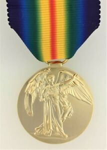 SUPERIOR QUALITY Brazil Brazilian WWI Victory Medal Bronze Finish Full Size