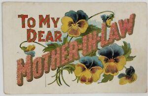 Postmarked-1910-South-Dakota-Postcard-To-My-Dear-MOTHER-IN-LAW