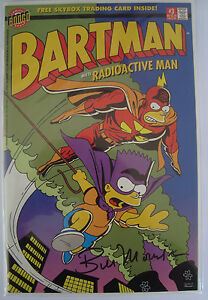 the simpsons bartman meets radioactive man